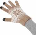��������� �������� ��� ��������� ������� Beewin Smart Gloves ������ L ���� brown BW-35BR