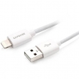 ������ ��� iPhone / iPod / iPad Capdase Sync & Charge Cable USB-Lightning 1,5m ���� white HCCB-L3G2