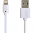 Кабель USB - Lightning Henca USB Data Lightning, цвет белый (LD01U-i16P)