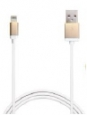 ������ ��� iPhone SE/5S/5 / 5C, iPad Mini, iPad Air � iPad 4 Puro USB to Lightning Connector Cable, ���� gold (CAPLTMETALGOLD)
