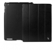 Чехол для iPad 3 и iPad 4 Jison Smart Leather Case, цвет черный (JS-ID-007AB)