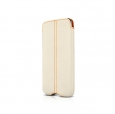 Кожаный чехол для iPod Touch 4G Beyzacases Zero Series Leather Case цвет белый/flo white BZ20331 – фото 2256.48