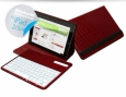 Чехол для iPad 3 и iPad 4 iFans Bluetooth Keyboard Case Croco, цвет red (BKB-IPD-09) цвет белый