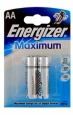 Алкалиновая батарейка АА Energizer Maximum LR6/E91 (638634) 2 шт. (638634)