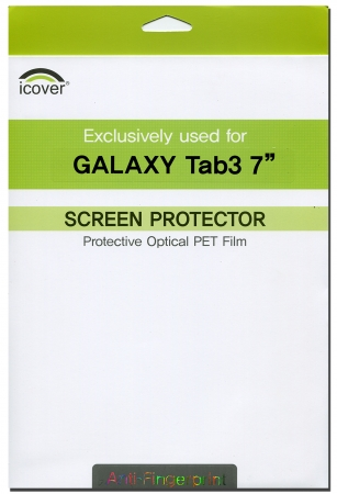 Защитная пленка для Samsung Galaxy Tab3 7.0 iCover Screen Protector Anti Finger (GT3/7-SP-AF) – фото 8530.41