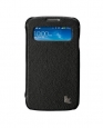 Чехол для Samsung Galaxy S4 Jison Fashion Folio Case цвет черный JS-SM4-02H00