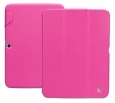 "Чехол для Samsung Galaxy Tab 3 10"" Jison Premium Leatherette Smart Case цвет розовый/crimson JS-S52-03H33"