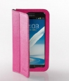 ������� ����� ��� Samsung Galaxy Note 2 (N7100) Yoobao Executive Leather Case, ���� rose