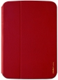 Кожаный чехол для Samsung Galaxy Tab 3 10.1 (P5200) Uniq Couleur, цвет cool in red (GT310GAR-COLRED)