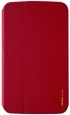 Кожаный чехол для Samsung Galaxy Tab 3 7.0 (T2100) Uniq Couleur, цвет cool in red (GT37GAR-COLRED)
