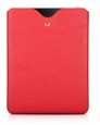 Кожаный чехол для iPad 3 и iPad 4 BeyzaCases RetroSlim Vertical Sleeve, цвет Flo Red (BZ19885)
