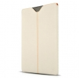 Кожаный чехол для iPad 3 и iPad 4 Beyzacases Zero Series Leather Sleeve, цвет White (BZ20041)