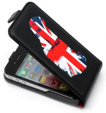 Mini Hard Case with flap design 03 black MNFLP503BL