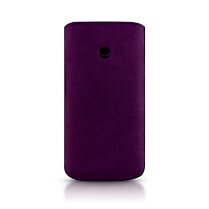 ������� ����� ��� iPhone 5 / 5S Beyzacases Retro Strap Plus, ���� purple (BZ23288)
