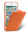 ������� ����� ��� iPhone 5 / 5S Melkco Premium Leather Case - Jacka Type, ���� Orange LC