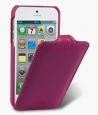 ������� ����� ��� iPhone 5 / 5S Melkco Premium Leather Case - Jacka Type, ���� Purple LC