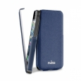 ����� ��� iPhone 5 / 5S PURO Flipper Ultra Slim Case, ���� blue(IPC5FLIPBLUE)