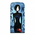 Кожаный чехол для iPhone SE/5S/5 Fonexion City Girls Flip Leather, цвет Blue (CACIIP5FLI02)