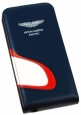 ������� ����� ��� iPhone 5 / 5S Aston Martin Racing flip case with car mouth, ���� blue/white (SMFCIP5D062)