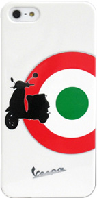 ����������� ����� �� ������ ������ iPhone 5 / 5S Vespa Hard Target ���� white VEHCP5TAW