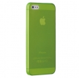 ����� �� ������ ������ ��� iPhone SE/5S/5 Ozaki O!coat 0.3-Jelly ���� Green OC533GN