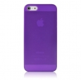 ����� �� ������ ������ iPhone SE/5S/5 Baseus Organdy Case 0.4 mm ���� purple FIAPIPH5-05