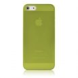 ����� �� ������ ������ iPhone 5 / 5S Baseus Organdy Case 0.4 mm, ���� green (FIAPIPH5-06)