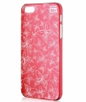 ����� �� ������ ������ iPhone 5 / 5S Artske Air Case, ���� red butterfly (AC-RD4-IP5)