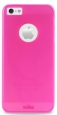 ����������� ����� �� ������ ������ iPhone 5 / 5S  PURO Easy Chic Rainbow cover, ���� pink (IPC5RBPNK)