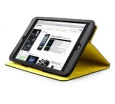 Чехол для iPad mini Capdase Folder Case Folio Canvas, цвет черный/black-yellow (FCAPIPADM-131E)