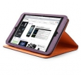 Чехол для iPad mini Capdase Folder Case Folio Canvas, цвет фиолетовый/purple-orange (FCAPIPADM-1357)