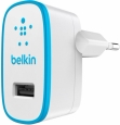 ������� �������� ���������� ��� iPhone, iPod, iPad, Samsung, HTC Belkin USB Home Charger ���� blue F8J052VFBLU