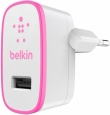 ������� �������� ���������� ��� iPhone, iPod, iPad, Samsung, HTC Belkin USB Home Charger ���� pink F8J052VFPNK