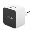 ������� �������� ���������� Capdase Dual USB Power Adapter Cube K2 ���� white AD00-CK02-EU