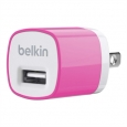 ������� �������� ���������� ��� iPhone, iPod, Samsung, HTC Belkin MIXIT Home Charger, ���� Pink (F8J017ttPNK)