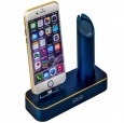 ���-������� ��� iPhone � Apple Watch COTEetCI Base 1 Charging Cradle ���� blue CS2045-BKG