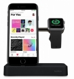 Док-станция для Apple Watch и iPhone Belkin Valet Charge Dock цвет черный F8J183vfBLK – фото 23212.49