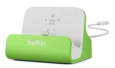 Док-станция для iPhone SE/5S/5 Belkin Charge + Sync Dock цвет green F8J045btGRN