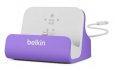 ���-������� ��� iPhone SE/5S/5 Belkin Charge + Sync Dock ���� purple F8J045btPUR