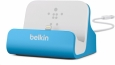Док-станция для iPhone SE/5S/5 Belkin Charge + Sync Dock цвет blue F8J045btBLU