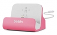 Док-станция для iPhone SE/5S/5 Belkin Charge + Sync Dock цвет pink (F8J045btPNK)