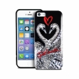 Чехол-накладка для iPhone SE/5S/5 Puro Just Cavalli Saint Valintine Collection цвет черный JCIPC5SWAN2 – фото 9263.47
