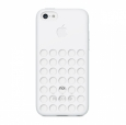 ������������ ����������� ����� �� ������ ������ iPhone 5C Apple iPhone 5C Case, ���� white (MF039ZM/A)