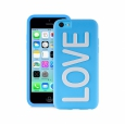����������� �����-�������� ��� iPhone 5C Puro Night Love, ���� blue (IPCCLOVEBLUE) ���� blue IPCCLOVEBLUE
