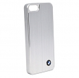 Чехол-накладка для iPhone 5C BMW Brushed Aluminium Hard, цвет серебристый (BMHCPMMBS)