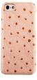 ������� �����-�������� ��� iPhone 5C Melkco Leather Snap Cover Ostrich Print pattern, ���� Pink