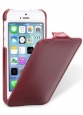 ������� ����� ��� iPhone 5C Melkco Leather Case Jacka Type, ���� Vintage Red