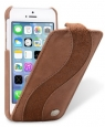 ������� ����� ��� iPhone 5C Melkco Leather Case Special Edition Jacka Type, ���� Classic Vintage Brown/ Suede Brown, ���� Classic Vintage Brown/ Suede Brown