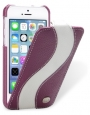 ������� ����� ��� iPhone 5C Melkco Leather Case Special Edition Jacka Type, ���� Purple/ White