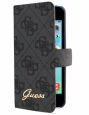 Чехол для iPhone 5C GUESS Folio 4G Super Slim, цвет grey (GUFLHPM4GG) цвет серый